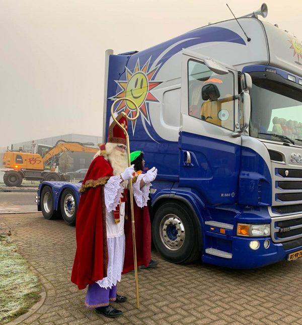 Clown Marco als Sinterklaas