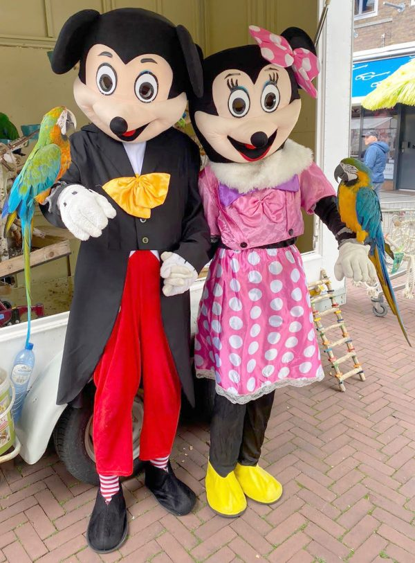 Clown Marco als Mickey Mouse