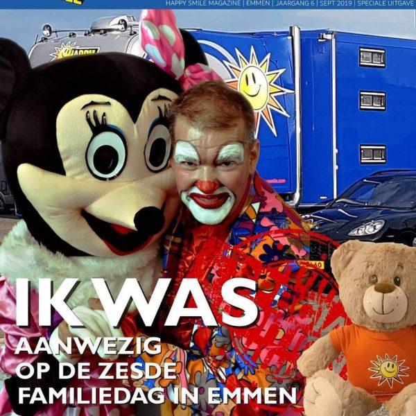 Clown Marco op de Familiedag in Emmen