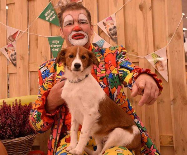 Clown Marco de dierenvriend