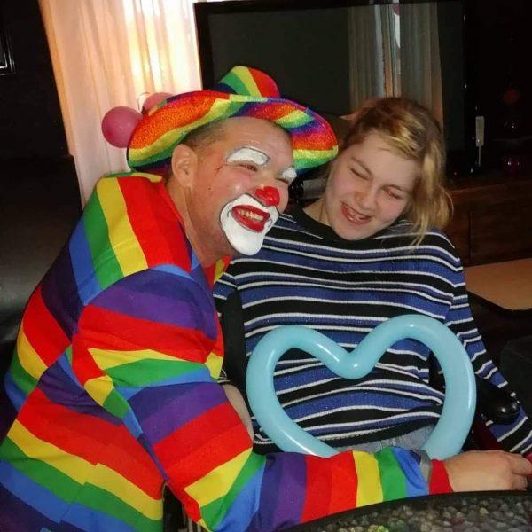 Barbara is Clown Marco zijn allessie