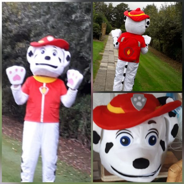 Clown Marco als Paw Patrol